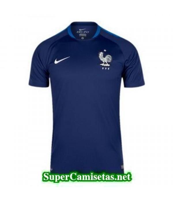 camiseta entrenamiento Francia azul 2016 2017