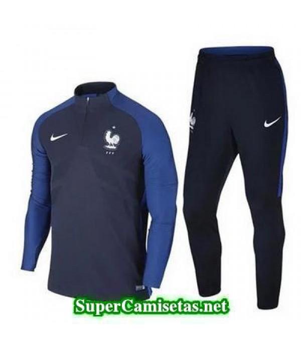 camiseta entrenamiento Francia ML Azul 2016