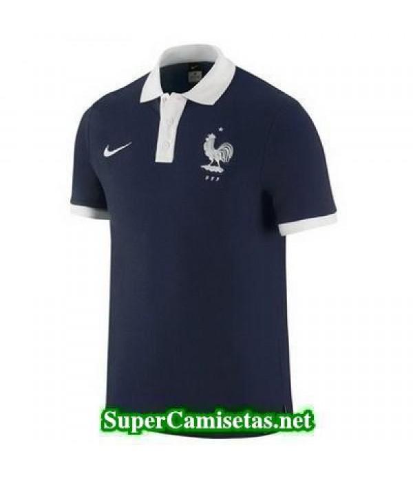 Camiseta polo Francia Azul 2016 2017