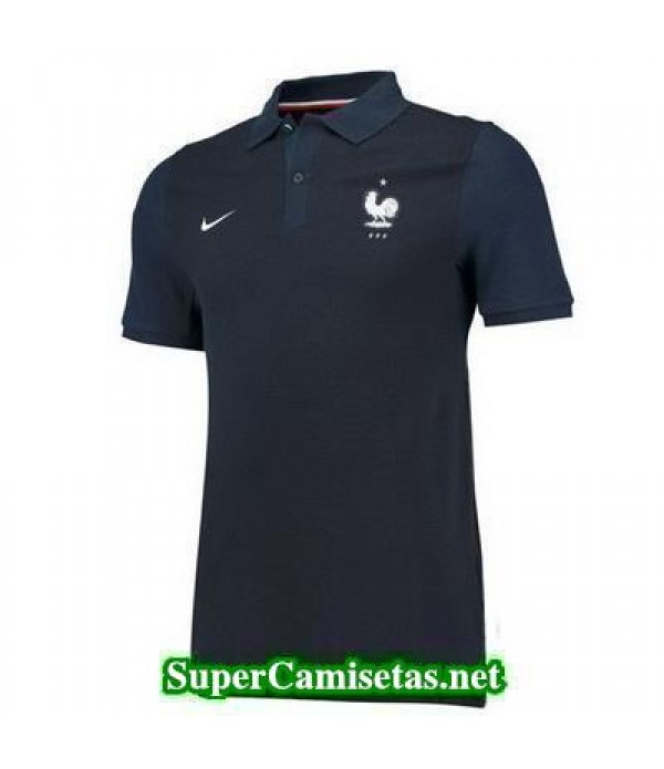 Camiseta polo Francia Azul oscuro 2016 2017