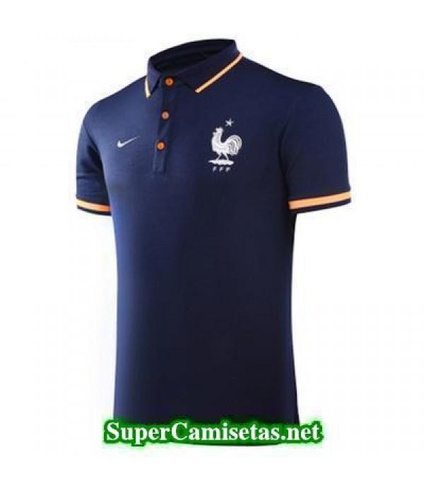 Camiseta polo Francia Azul oscuro 2017