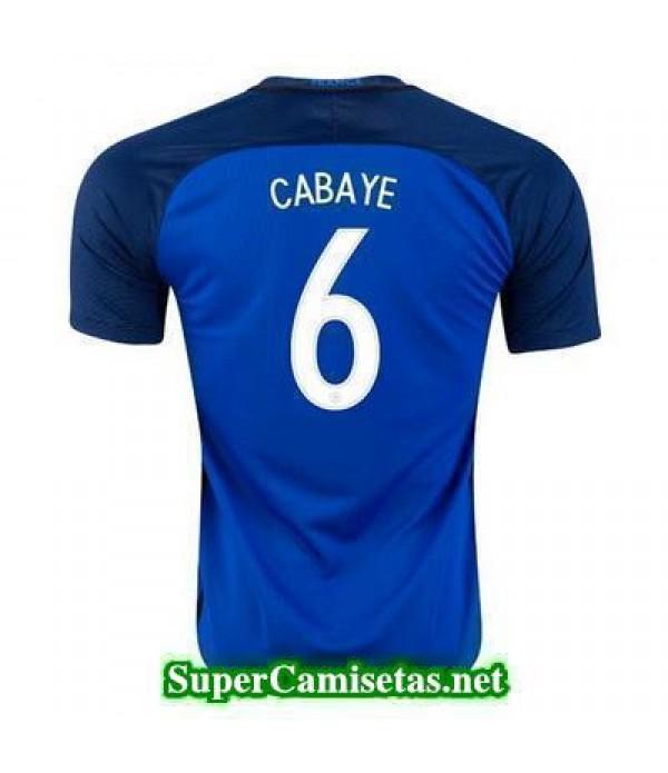 Primera Equipacion Camiseta Francia CABAYE Eurocopa 2016