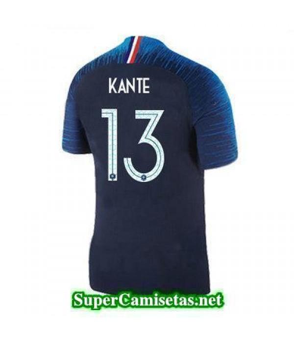 Primera Equipacion Camiseta Francia Kante Copa Mundial 2018