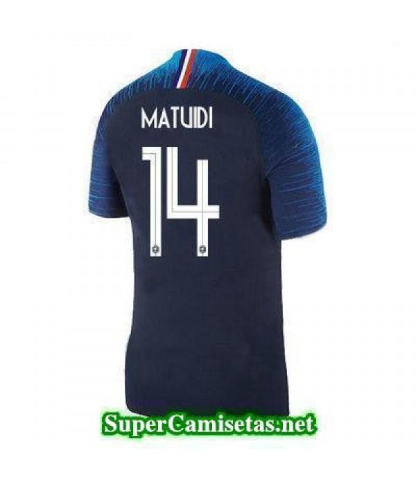 Primera Equipacion Camiseta Francia Matuidi Copa Mundial 2018