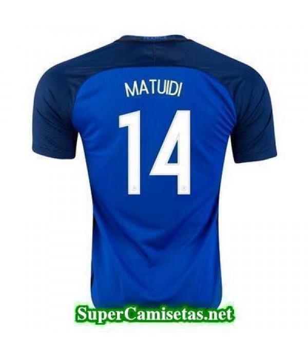 Primera Equipacion Camiseta Francia MATUIDI Eurocopa 2016