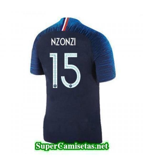 Primera Equipacion Camiseta Francia Nzonzi Copa Mundial 2018
