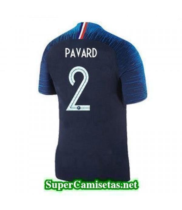 Primera Equipacion Camiseta Francia Pavard Copa Mundial 2018