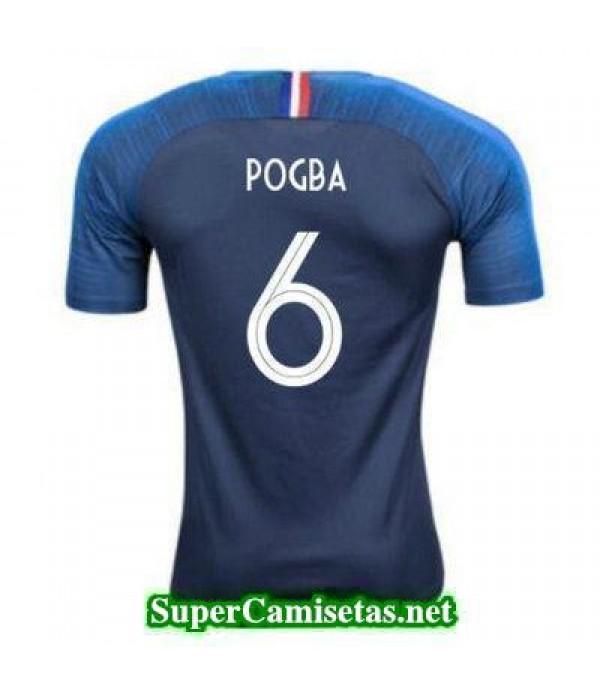 Primera Equipacion Camiseta Francia Pogba Copa Mundial 2018