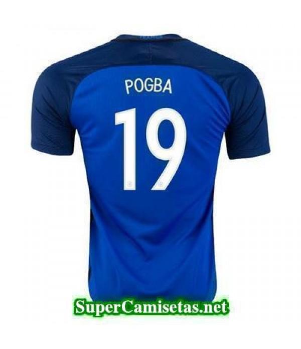 Primera Equipacion Camiseta Francia POGBA Eurocopa 2016