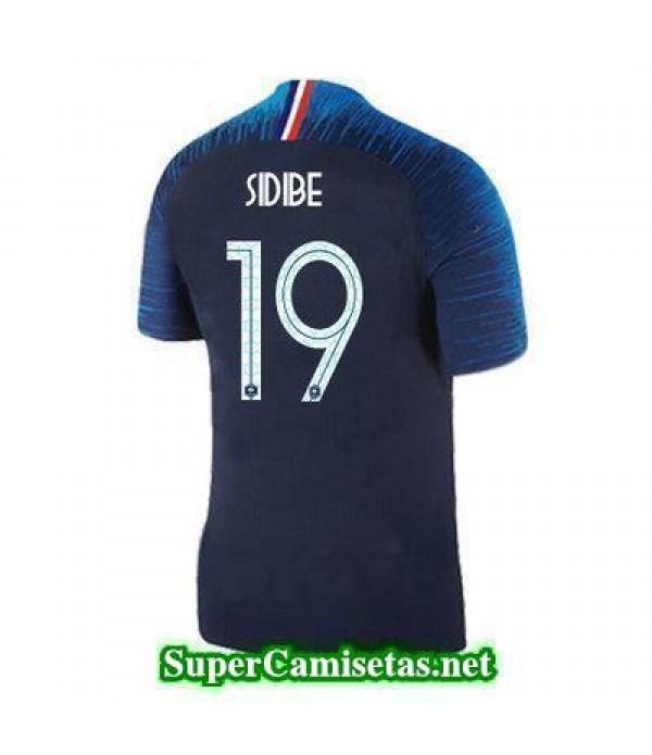 Primera Equipacion Camiseta Francia Sidibe Copa Mundial 2018