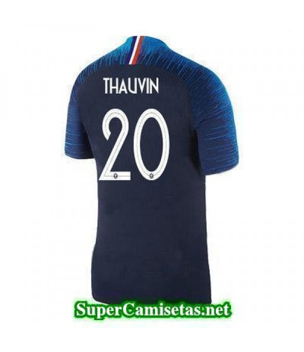 Primera Equipacion Camiseta Francia Thauvin Copa Mundial 2018