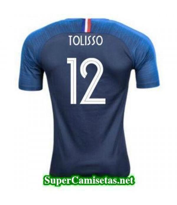 Primera Equipacion Camiseta Francia Tolisso Copa Mundial 2018