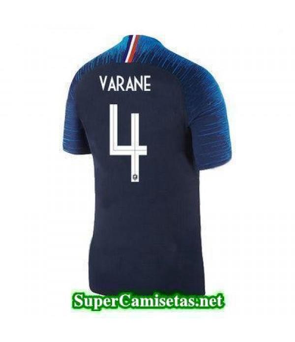 Primera Equipacion Camiseta Francia Varane Copa Mundial 2018