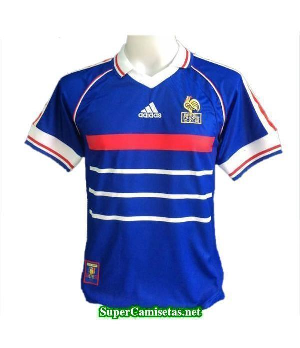 Tailandia Primera Equipacion Camiseta Francia retro 1998