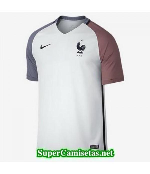 Tailandia Segunda Equipacion Camiseta Francia Eurocopa 2016