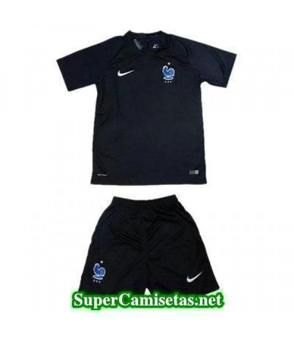 Tercera Equipacion Camiseta Francia Ninos 2017/18