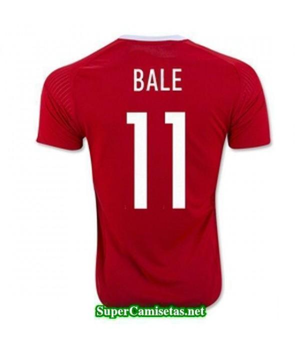 Primera Equipacion Camiseta Gales BALE Eurocopa 2016