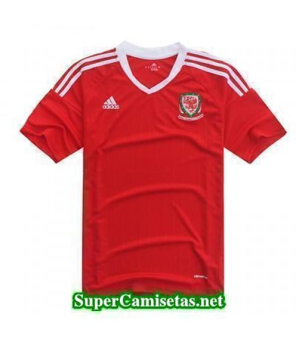 Primera Equipacion Camiseta Gales Eurocopa 2016