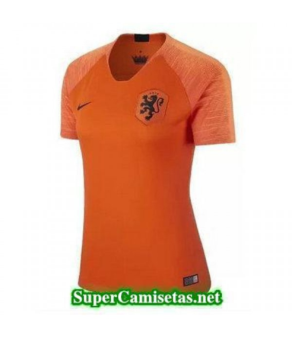 Primera Equipacion Camiseta Holanda Mujer 2018/19