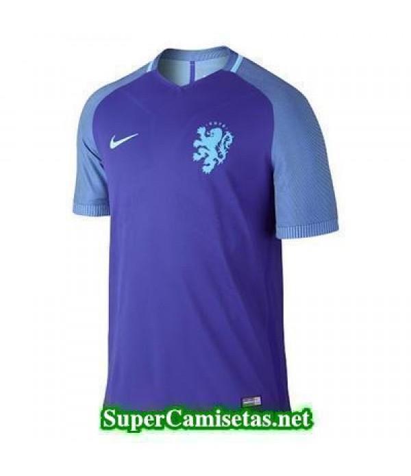 Segunda Equipacion Camiseta Holanda Eurocopa 2016