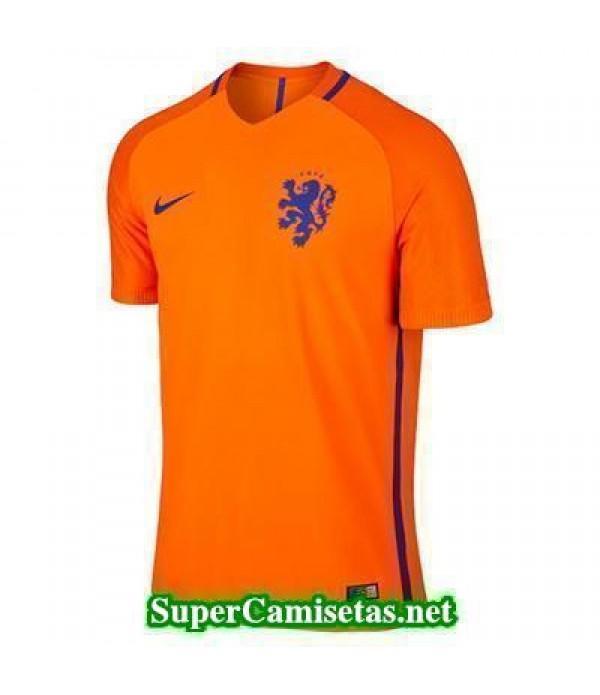 Tailandia Primera Equipacion Camiseta Holanda Eurocopa 2016