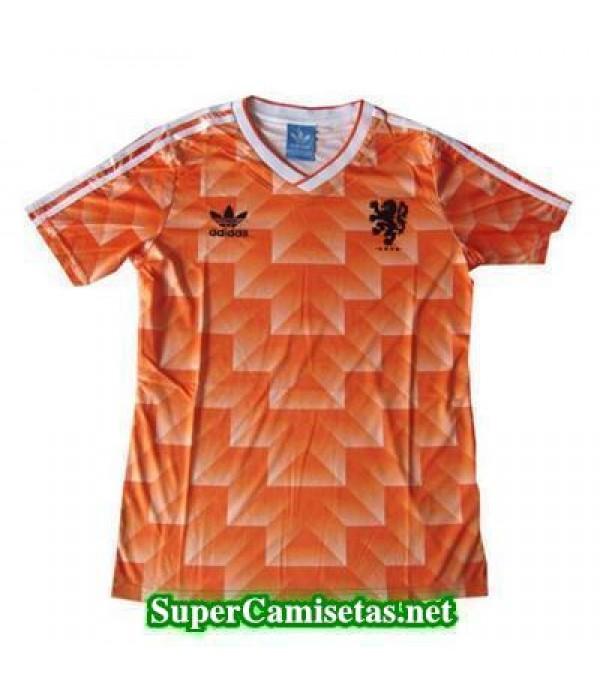 Tailandia Primera Equipacion Camiseta Holanda clasicas 1988