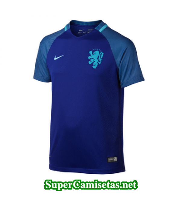 Tailandia Segunda Equipacion Camiseta Holanda Eurocopa 2016