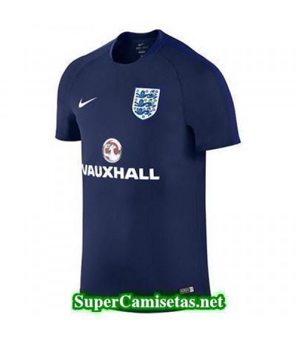camiseta entrenamiento Inglaterra Azul 2016 2017