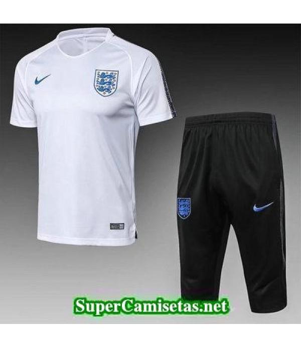 camiseta entrenamiento Inglaterra Blanco-01 2018 2...