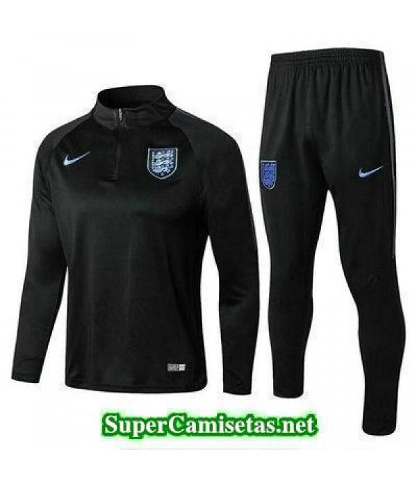 Camiseta entrenamiento Inglaterra ML Negro 2018 2019