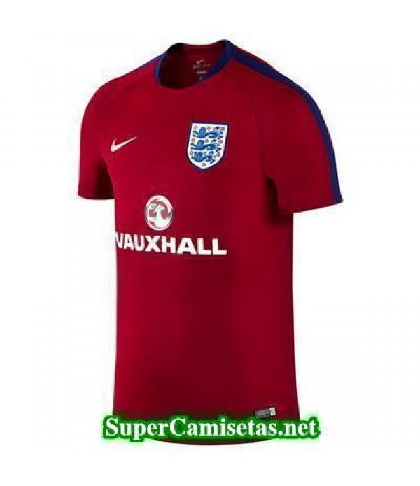 camiseta entrenamiento Inglaterra Rojo 2016 2017