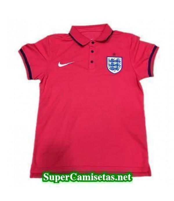 Camiseta polo Inglaterra Rojo 2016 2017