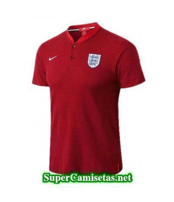 Camiseta polo Inglaterra Rojo 2018 2019