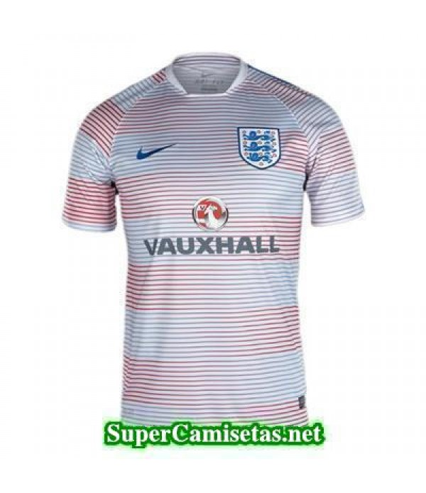 camiseta pre-partido Inglaterra Blanco 2016 2017
