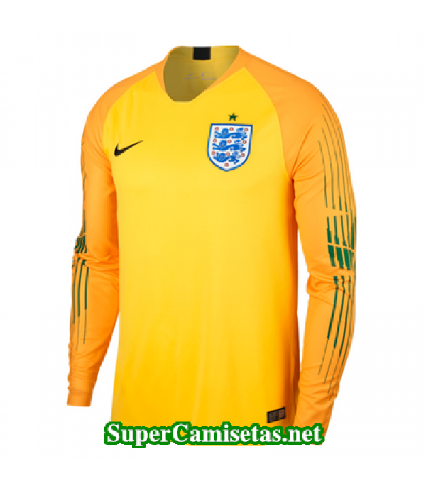 Portero Equipacion Camiseta Inglaterra ML Copa Mundial 2018