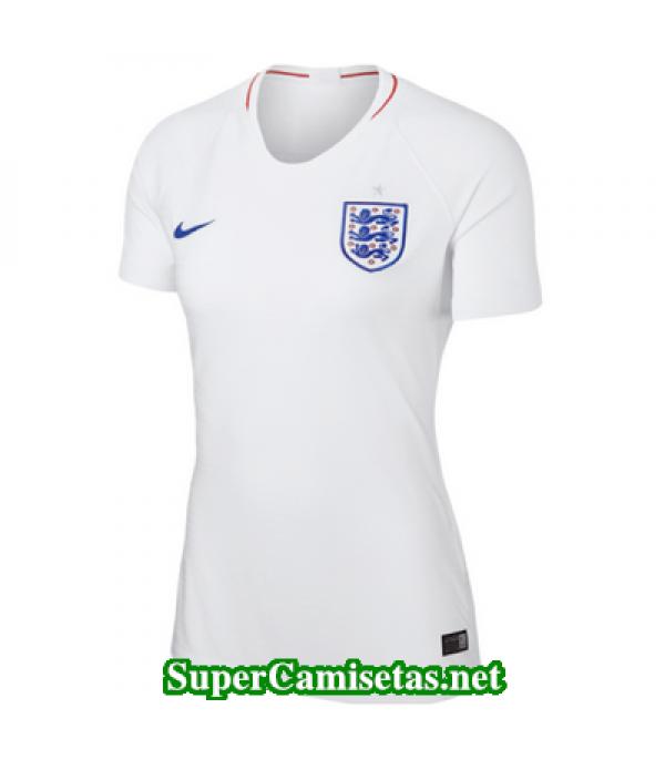 Primera Equipacion Camiseta Inglaterra Mujer Copa Mundial 2018