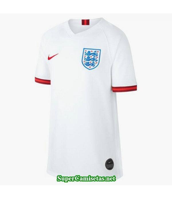 Primera Equipacion Camiseta Inglaterra Mujer Copa Mundial 2019