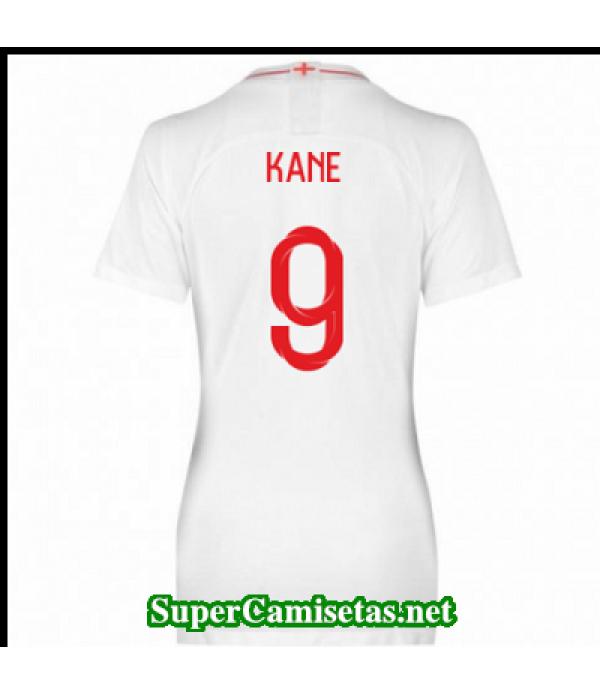 Primera Equipacion Camiseta Inglaterra Mujer Kane Copa Mundial 2018