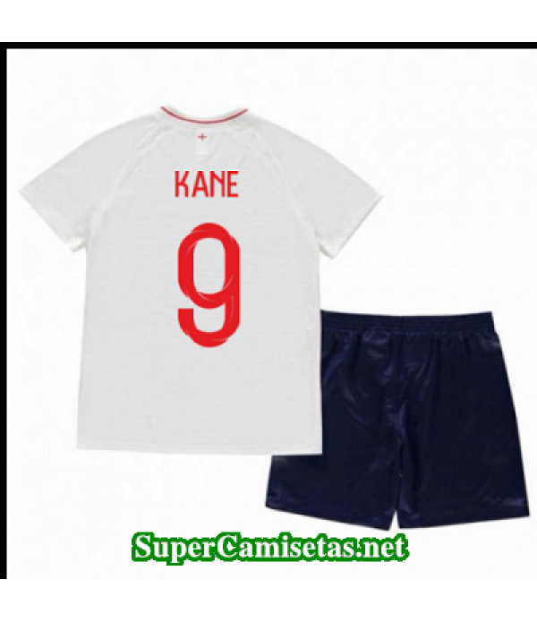 Primera Equipacion Camiseta Inglaterra Ninos Kane Copa Mundial 2018