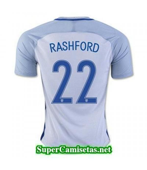 Primera Equipacion Camiseta Inglaterra RASHFORD Eurocopa 2016