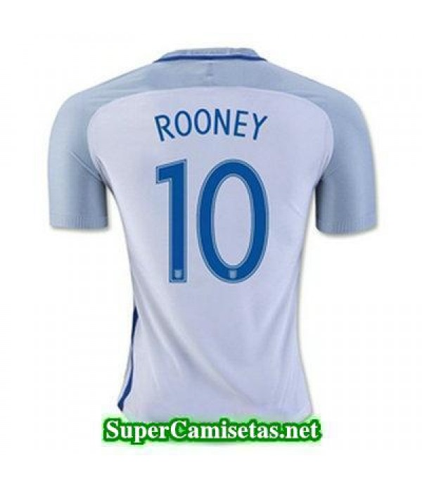 Primera Equipacion Camiseta Inglaterra ROONEY Eurocopa 2016