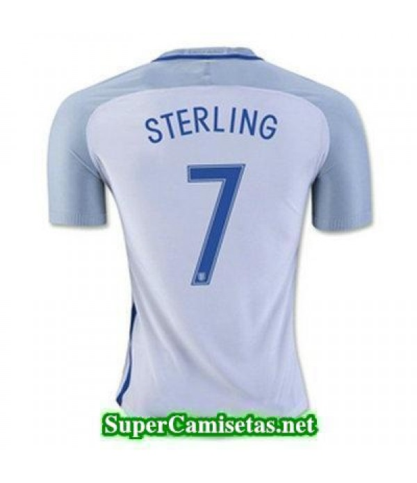 Primera Equipacion Camiseta Inglaterra STERLING Eurocopa 2016