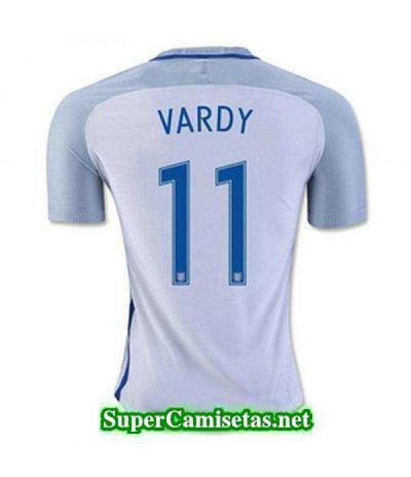 Primera Equipacion Camiseta Inglaterra VARDY Eurocopa 2016