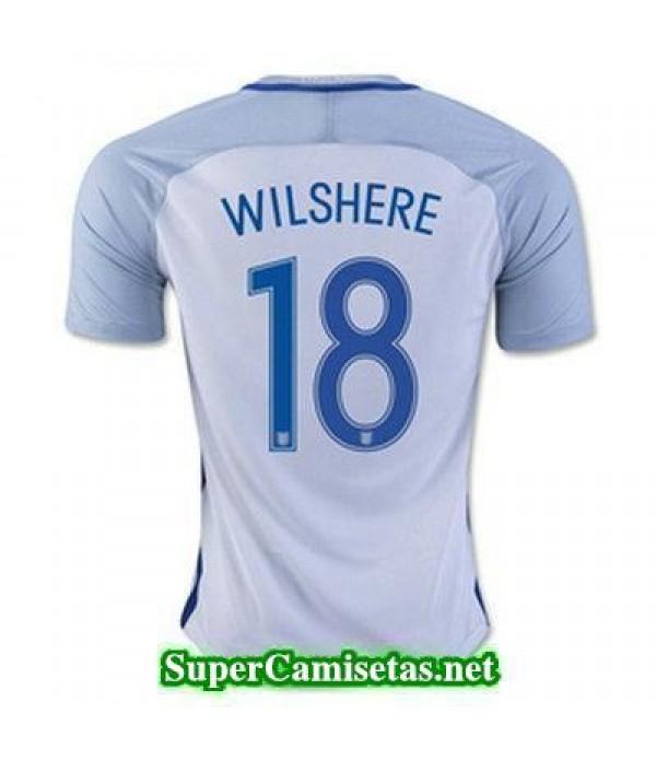 Primera Equipacion Camiseta Inglaterra WILSHERE Eurocopa 2016