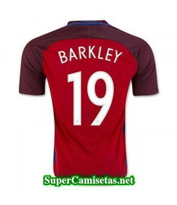 Segunda Equipacion Camiseta Inglaterra BARKLEY Eurocopa 2016