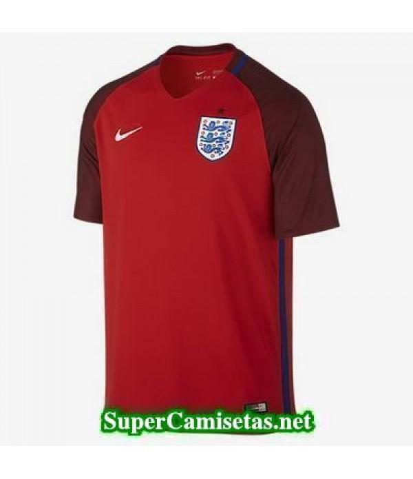 Segunda Equipacion Camiseta Inglaterra Eurocopa 2016