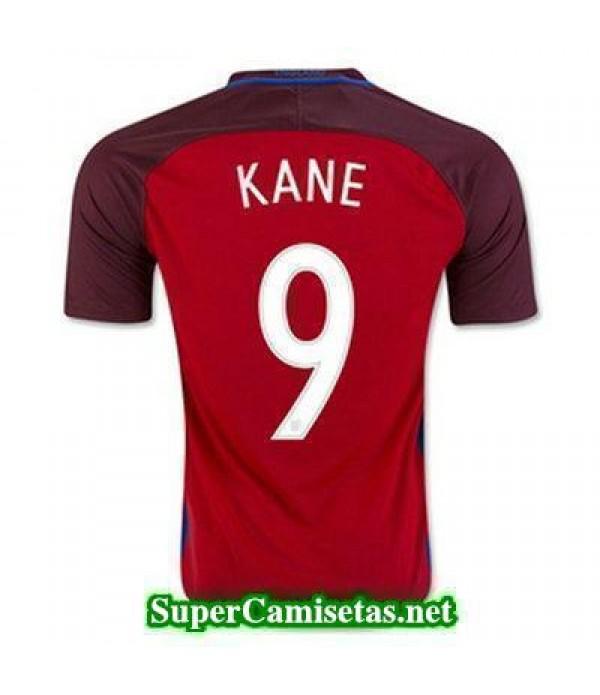 Segunda Equipacion Camiseta Inglaterra KANE Eurocopa 2016