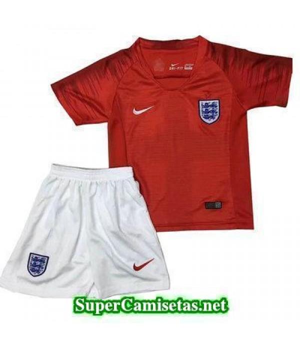 Segunda Equipacion Camiseta Inglaterra Ninos Copa Mundial 2018