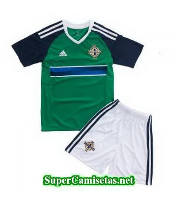 Primera Equipacion Camiseta Irlanda del Norte Ninos Eurocopa 2016