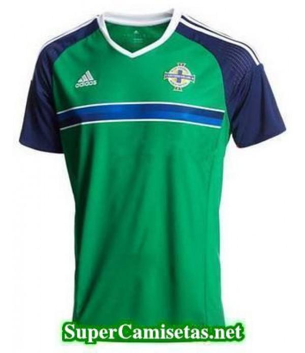 Tailandia Primera Equipacion Camiseta Irlanda del Norte Eurocopa 2016